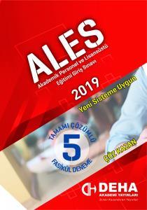 Der ALES Tamamı Çözümlü Fasikül Deneme