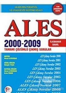 ALES 2000 - 2009 Tamamı Çözümlü Çıkmış Sorular