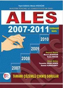 ALES 2007 - 2011 SONBAHAR Dahil Çıkmış Sorular ve Çözümleri