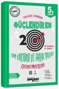 Ankara Yayıncılık 5. Sınıf Din Kültürü ve Ahlak Bilgisi Güçlendiren 20 Deneme