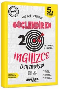 Ankara Yayıncılık 5. Sınıf İngilizce Güçlendiren 20 Deneme