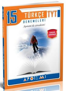 Apotemi Yayınları TYT Türkçe Tamamı Çözümlü 15 li Denemeleri