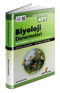 Aydın Yayınları AYT Biyoloji 30 Deneme Video Çözümlü