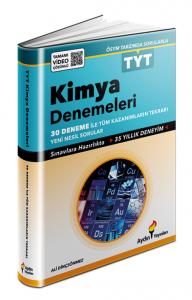 Aydın Yayınları TYT Kimya 30 Fasikül Deneme Video Çözümlü