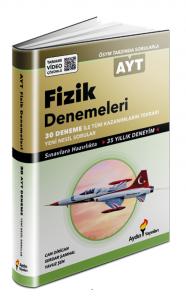 Aydın Yayınları AYT Fizik 30 Deneme Video Çözümlü