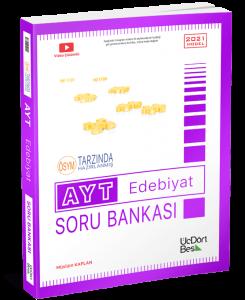 ÜçDörtBeş Yayınları 2021 AYT Edebiyat Soru Bankası