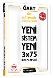 Filozof ÖABT Lise Matematik Öğretmenliği Yeni Sistem 3x75 Deneme Sınavı