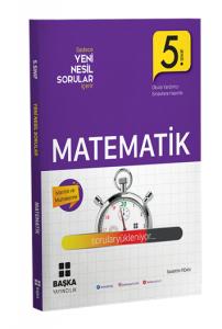 Başka 5. Sınıf Matematik Yeni Nesil Sorular