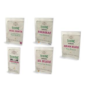Pelikan KPSS için Tecrübe Taktiklerle Türkçe Seti - 5 Kitap