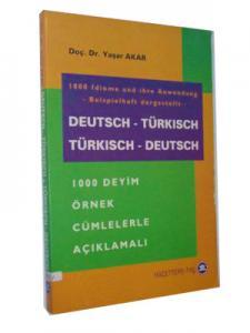 1000 Deyim Örnek Cümlelerle  Almanca-Türkçe Türkçe-Almanca