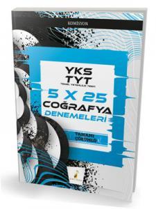 Pelikan YKS TYT 5x25 Coğrafya Denemeleri