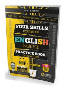 Four Skills English Practice Book - Dört Beceri İngilizce Çalışma Kitabı