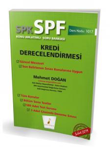 Pelikan SPK - SPF Kredi Derecelendirmesi Konu Anlatımlı Soru Bankası 1017