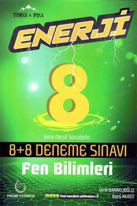 Palme 8. Sınıf Fen Bilimleri Enerji 8+8 Deneme Sınavı