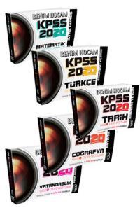 Benim Hocam Yayınları 2020 KPSS Genel Yetenek Genel Kültür Video Ders Notları Seti