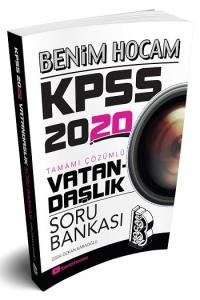 Benim Hocam Yayınları 2020 KPSS Vatandaşlık Tamamı Çözümlü Soru Bankası