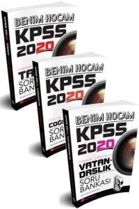 Benim Hocam Yayınları 2020 KPSS Genel Kültür Tamamı Çözümlü Soru Bankası Seti