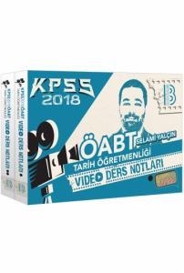 Benim Hocam KPSS ÖABT Tarih Öğretmenliği Modüler Video Ders Notları Seti