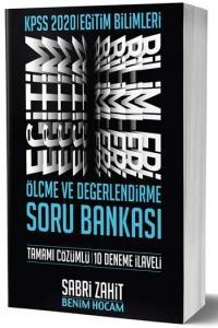 Benim Hocam Yayınları 2020 KPSS Eğitim Bilimleri Ölçme ve Değerlendirme Soru Bankası