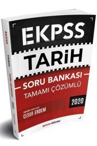 Benim Hocam Yayınları 2020 EKPSS Tarih Tamamı Çözümlü Soru Bankası