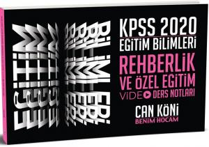 Benim Hocam Yayınları 2020 KPSS Eğitim Bilimleri Rehberlik ve Özel Eğitim Video Ders Notları