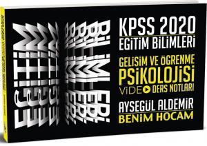 Benim Hocam Yayınları 2020 KPSS Eğitim Bilimleri Gelişim ve Öğrenme Psikolojisi Video Ders Notları