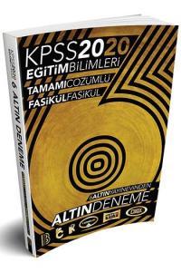 Benim Hocam Yayınları 2020 KPSS Eğitim Bilimleri 6 ALTIN Tamamı Çözümlü Fasikül Deneme
