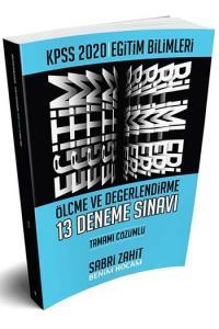 Benim Hocam Yayınları 2020 KPSS Eğitim Bilimleri Ölçme ve Değerlendirme Tamamı Çözümlü 13 Deneme