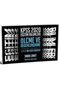 Benim Hocam Yayınları 2020 KPSS Eğitim Bilimleri Ölçme ve Değerlendirme Tamamı Çözümlü Video Soru Bankası