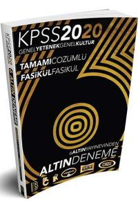 Benim Hocam Yayınları 2020 KPSS Genel Yetenek Genel Kültür 6 ALTIN Tamamı Çözümlü Fasikül Deneme