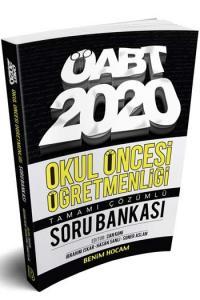 Benim Hocam Yayınları 2020 ÖABT Okul Öncesi Öğretmenliği Tamamı Çözümlü Soru Bankası