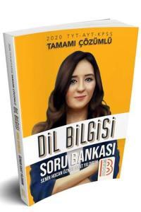 Benim Hocam Yayınları 2020 TYT AYT KPSS Dil Bilgisi Tamamı Çözümlü Soru Bankası