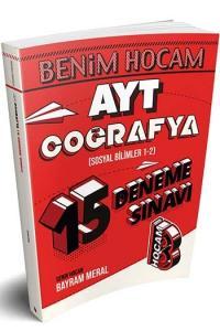 Benim Hocam Yayınları AYT Coğrafya 15 Deneme Sınavı