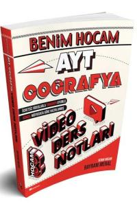 Benim Hocam Yayınları AYT Coğrafya Video Ders Notları