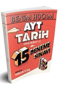Benim Hocam Yayınları AYT Tarih 15 Deneme Sınavı