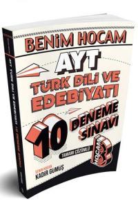Benim Hocam Yayınları AYT Türk Dili ve Edebiyatı Tamamı Çözümlü 10 Deneme Sınavı