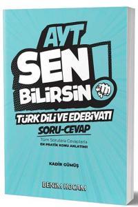 Benim Hocam Yayınları AYT Türk Dili ve Edebiyatı Sen Bilirsin Soru-Cevap Kitabı