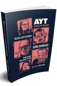 Benim Hocam Yayınları AYT Türk Dili ve Edebiyatı Yazar-Eser İçerikli Soru Bankası