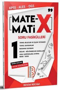 Benim Hocam Yayınları KPSS ALES DGS Matematix Soru Fasikülleri 1