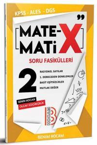 Benim Hocam Yayınları KPSS ALES DGS Matematix Soru Fasikülleri 2