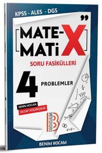 Benim Hocam Yayınları KPSS ALES DGS Matematix Soru Fasikülleri 4