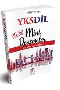 Benim Hocam Yayınları YKSDİL 30x30 Tamamı Çözümlü Mini Denemeler