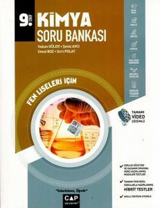 Çap Yayınları 9. Sınıf Fen Lisesi Kimya Soru Bankası