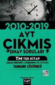 Çap Yayınları AYT TM Tek Kitap Tamamı Çözümlü Çıkmış Sınav Soruları