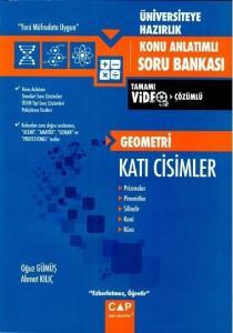 Çap Yayınları Geometri Katı Cisimler Konu Anlatımlı Soru Bankası