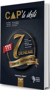 Çap Yayınları TYT Türkçe Matematik Çaplı İkili 7 Deneme