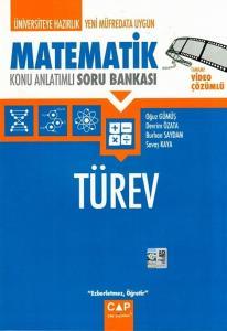Çap Yayınları Üniversiteye Hazırlık Matematik Türev Konu Anlatımlı Soru Bankası