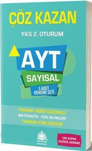 Çöz Kazan Yayınları AYT Sayısal 5 Adet Deneme Seti