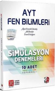 Çözüm Yayınları AYT Fen Bilimleri Simülasyon Denemeleri