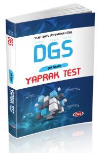 Data DGS Çek Kopar Yaprak Test 2018